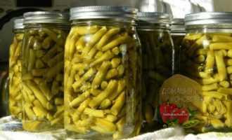 Konservirovannaja sparzhevaja fasol' na zimu ochen' vkusnye recepty prigotovlenija
