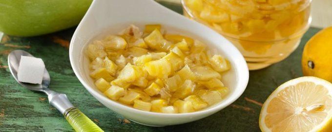 Varen'e iz kabachkov na zimu recepty s limonom apel'sinom pal'chiki oblizhesh'