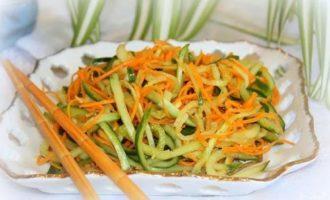 Vkusnye recepty kabachkov po-korejski bystrogo prigotovlenija i na zimu
